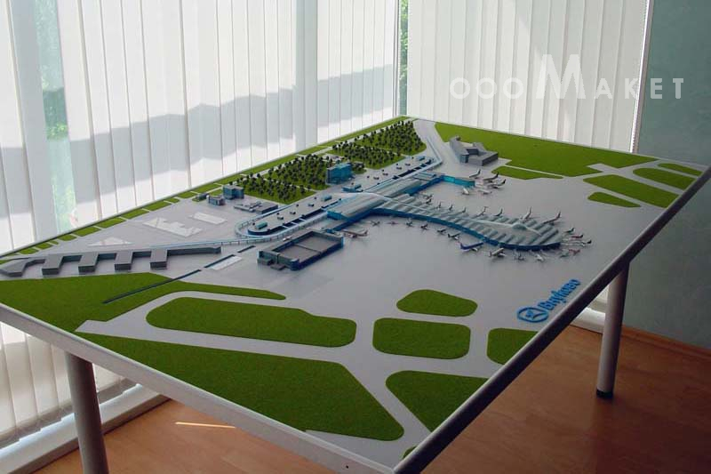 Аэропорт макет своими руками 4
