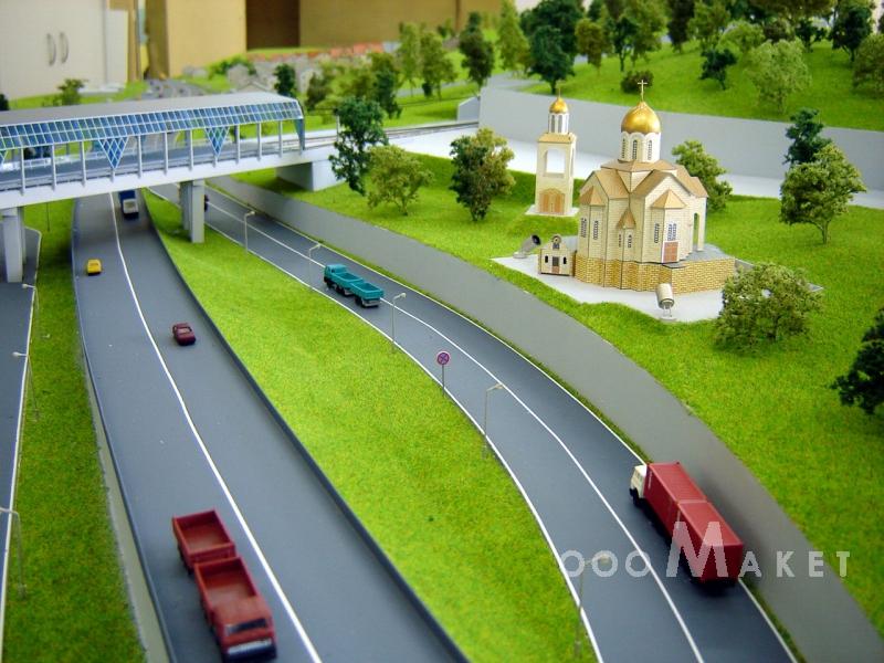 Макеты автомобильных дорог своими руками